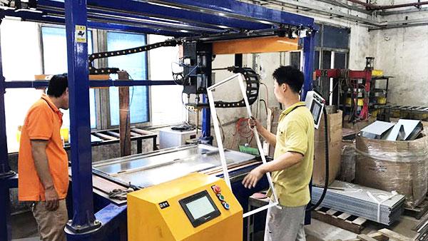 普电交流点焊机定制案例