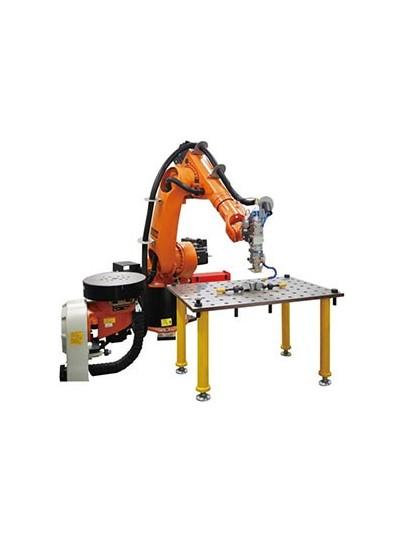 单工位机器人激光焊接工作站