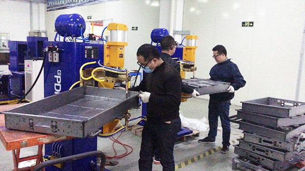 普电中频点焊机定制案例